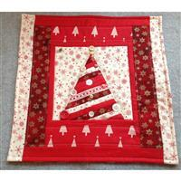 Sew with Beth Christmas Tree Cushion Kit Red & Gold