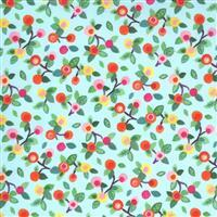 Moda Fanciful Forest in Forest Fruit Fabric 0.5m