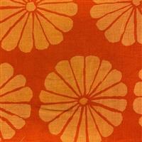 Kaffe Fassett Collective Damask Flower in Orange Fabric 0.5m