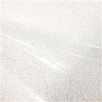Glass Clear Glitter PVC Silver 0.5m