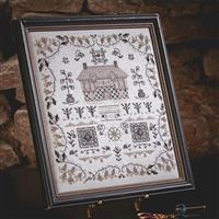 Cross Stitch Guild Blackwork House Kit
