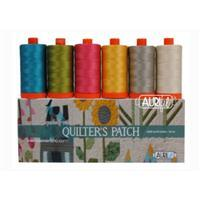 Aurifil Quilter's Patch by Edyta Sitar Pack Of 6 Large Spools (6 x 1300m)