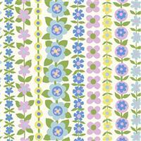 Liberty Carnaby Collection Soho Stripe Pastel Fabric 0.5m