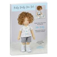 Ollie Dolly Instruction Manual & Pattern Pieces with Free T-Shirt Sewing Pattern PDF