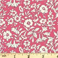 Liberty Cottage Garden Collection Red Morning Dew FQ
