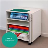 Horn Modular Cabinet 3 Shelves Beech