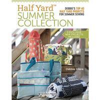 Half Yard Summer Collection Book By Debbie Shore (Signed)