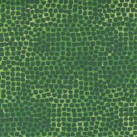 Moda Starflower Christmas Green Dot Fabric 0.5m