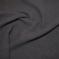 Stone Washed 100% Linen Dark Grey 0.5m