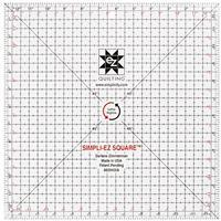 """EZ Quilting Leftie-Rightie Square 31.75cm (12.5"""") Acrylic Template"""