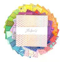 """Tula Pink True Colours 10"""" Charm Pack of 42 Pieces"""