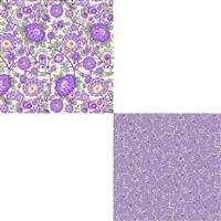 Henry Glass Nana Mae V Lavender Fabric Bundle (1m)