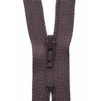 Brown Nylon Dress and Skirt Zip 30cm