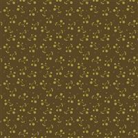 Riley Blake Adel in Autumn Chocolate Orange Fabric 0.5m