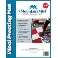 "Mountain Mist Wool Pressing Mat 30 x 45cm (12x18"")"