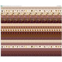 Harvest Strips Fabric Panel (140 x 123cm)