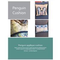 Delphine Brooks Penguin Applique Cushion Instructions