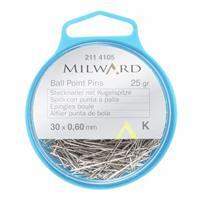 Milward Ball Point Pins