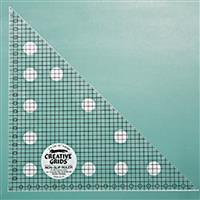 Creative Grids Non-Slip 45° Metric Triangle Ruler