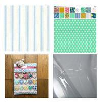 Sallieann Quilts Green Heart Strings Project Pouch Kit: Instructions, Fabric Panel & FQ (2pcs)