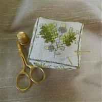 The Cross Stitch Guild Acorn Boxed Pin Cushion