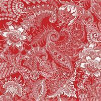 Riley Blake Castkata Classic Floral Red Fabric 0.5m