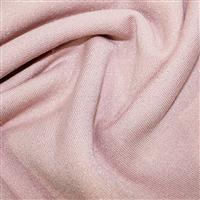 Pink Cotton Lurex Jersey Fabric 0.5m