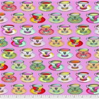 Tula Pink Curiouser And Curiouser in Tea Time Wonder Fabric 0.5m
