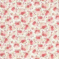 Moda Sanctuary in Cream Daisy Field Fabric 0.5m
