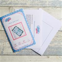 Living in Loveliness Chase Mini ipad/Book Cover Pattern