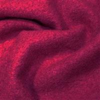 Sangria Boiled Wool Fabric 0.5m
