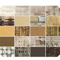 Tim Holtz Neutral FQ Pack of 20 Pieces