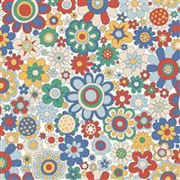 Liberty Carnaby Collection Paradise Petals Retro Fabric 0.5m