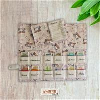 Amber Makes Vintage Sewing The Needlecase Collection Kit - Instructions & Panel