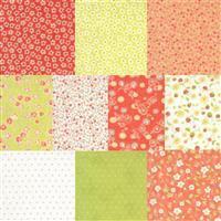 Moda Strawberries & Rhubarb Fabric Mega Bundle (5m). Get Half A Metre FREE. Save £7.49.