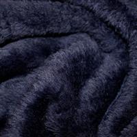 Navy Supersoft Fleece Fabric 0.5m