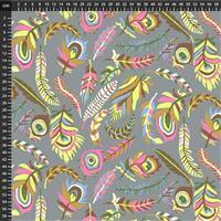 Kaffe Fassett Collective Pastel Tropical Leaves Fabric 0.5m