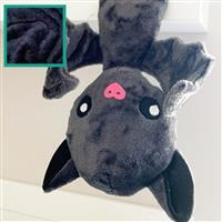Navy Duo Bat Plush Kit: Free Instructions, Fabric (1m) & Toy Stuffing