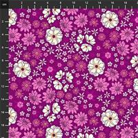 Primavera Ditsy Floral on Pink Fabric 0.5m