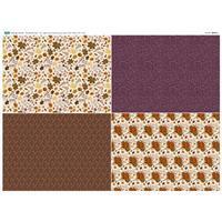 Harvest Fat Quarter Fabric Panel (140 x 112cm)