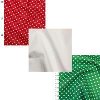 Christmas Spots Fabric Bundle (1.5m)