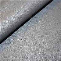 30% Viscose 40% PU Leather 30% Polyester Fabric Grey 0.5m