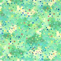 Moda Fanciful Forest in Green Multi Drop Fabric 0.5m