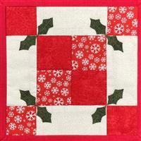 Village Fabrics Christmas Mug Mat