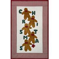 Village Fabrics Gingerbread Man Christmas Wall Hanging