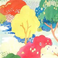 Moda Fanciful Forest  in Watercolour Multi Forest Fabric 0.5m