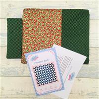 Living in Loveliness - Christmas Pinwheel Quilt Kit