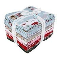 Riley Blake Warm Wishes FQ Pack Of 21 Pieces