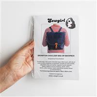 Sewgirl Brompton Bag Pattern includes Adjustable Rings and Sliders