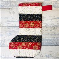 Living in Loveliness - Christmas Stocking Kit. Option 1